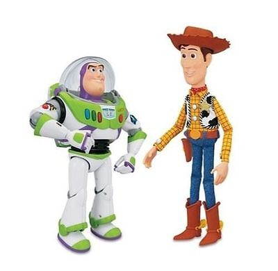 Disney Toy Story Woody Buzz Lightyear Interactive Buddies Figures 100 Phrases