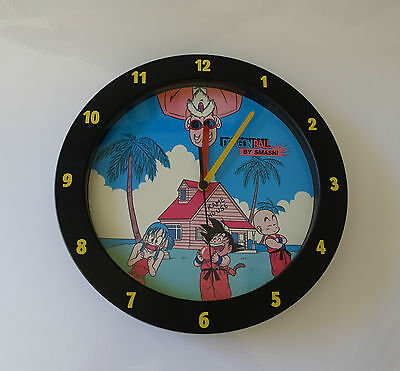 Vintage 1986 Dragon Ball Wall Clock by Smash In good working order 25 cm Diamete