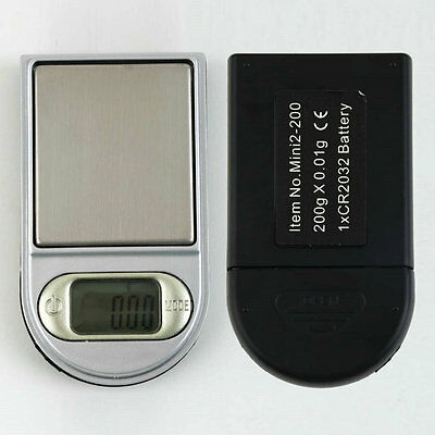 Lighter Style LCD Digital Mini Pocket 0.01~200g Gram Pocket Jewellery Scale R3