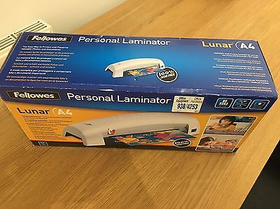 BARGAIN Fellowes A4 Lunar Laminator NEVER USED