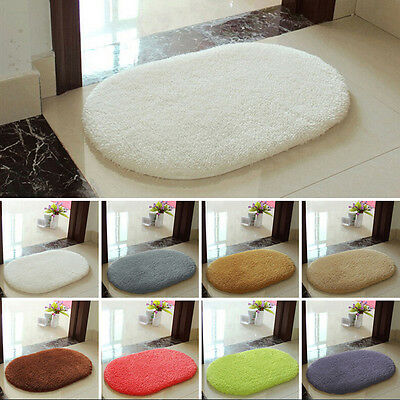 Non-slip Absorbent Soft Memory Foam Bath Bathroom Bedroom Floor Shower Mat Rug D