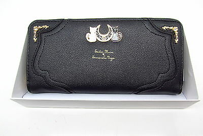 Sailor Moon Luna Tsukino Usagi 20Yrs Anniversary Cosplay Wallet Bag Womens Purse