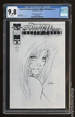 Top Cow Classics in Black and White Witchblade (2000) #1DF CGC 9.8 (0282985012)