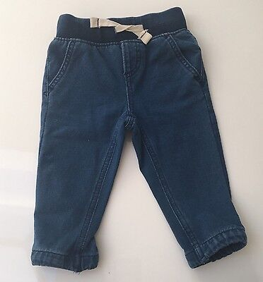 Gap Boys Blue Jeans / Joggers - 12-18 Months - Worn Once - Immaculate Condition