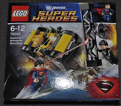 Lego 76002 Super Heroes Superman Entscheidung in Metropolis Showdown OVP MISB