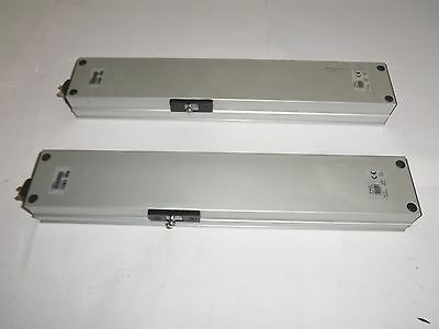 2 x MiNGARDi Micro XL Chain Actuator Window Automation Silver 24V 420mm