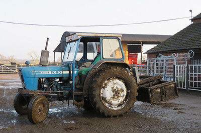 Ford 4600 Tractor Colour Photograph