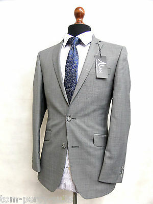 Men's Grey Alexandre London Suit 36R W30 L31 SS6520