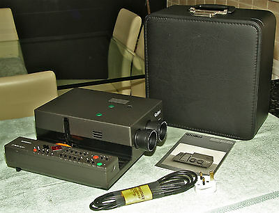ROLLEIVISION 35 TWIN DIGITAL Projector with case Fully Serviced