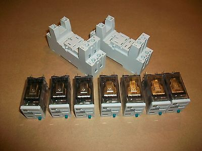 7pc Siemens Ice Cube Relay 3TX7114-5LC03   24vdc coil   NEW