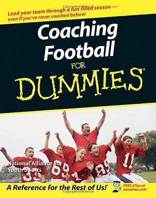 Coaching Football For Dummies,PB,National Alliance for Youth Sports, Greg Bach