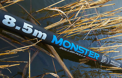 Preston monster margin pole 8.5m deluxe pack on next working day delivery