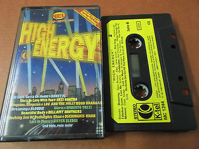 High Energy: Musikkassette (Audio Tape): K-Tel: Boney M.: Racey: Exile: Gilla