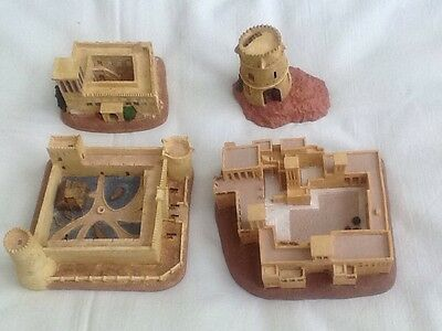 Emirates Set Of 4 Forts Houses And Watch Towers Circa 95/96