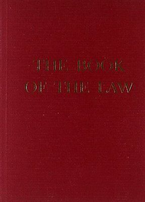 "Book of the Law,PB,""Aiwass"" - NEW"