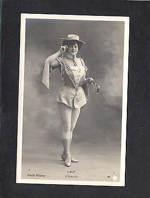 Laly actress Olympia France postcard