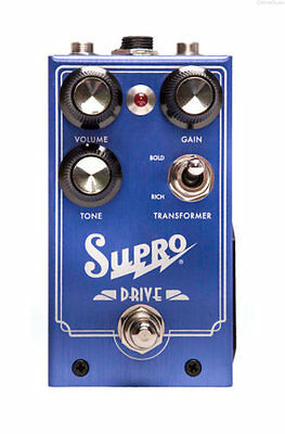 NEW SUPRO DRIVE OVERDRIVE EFFECTS PEDAL w/ FREE CABLE FREE US SHIPPING