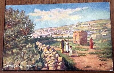Tuck and Sons Oilette postcards (2) Holy Land