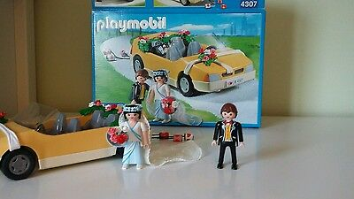 Playmobil 4307 Wedding car with bride and groom