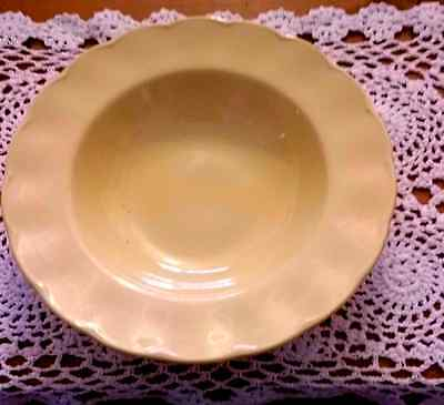 TWO Vintage Grindley Petal Ware Yellow Dessert Bowl Dish 1940's 50's