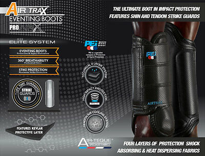 Premier Equine Air Trax Eventing Boots Set of 4