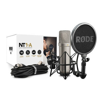 Rode NT1-A Vocal Recording Pack Condenser Microphone Package