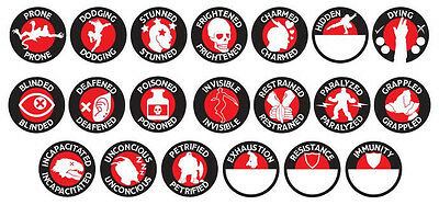 Dungeons & Dragons: 5th Edition Character Token Set