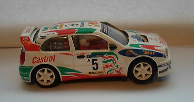 1 Nimco slot car , scalextric compatible. Toyota Corolla..working condition