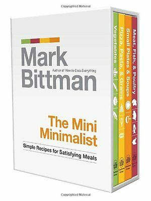 The Mini Minimalist: Simple Recipes for Satisfying Meals,HC,Mark Bittman - NEW