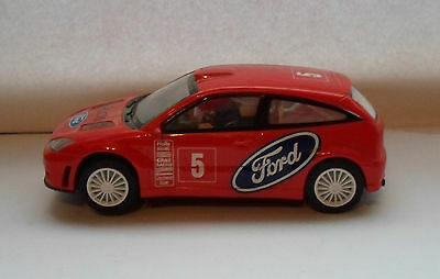 """1 pair of Ford Focus WRC Rally scalextric cars. working condition (TESTED 5""""long"""