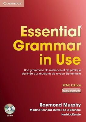 Essential Grammar in Use Student Book with Answers and CD-ROM French Edition,MM