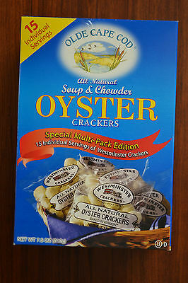 Olde Cape Cod Oyster Crackers 7.5oz 15 Individual Servings