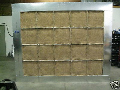 10' WIDE x 8' TALL EXHAUST CABINET/PAINT SPRAY BOOTH