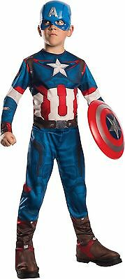 AVENGERS CAPTAIN AMERICA AGE OF ULTRON CHILD COSTUME Halloween Cosplay Dress Up