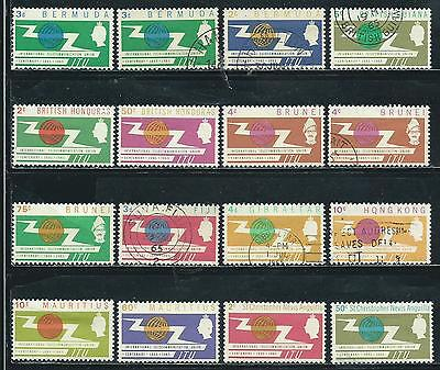 I. T. U. Issue - 1965 - 33 stamps mixed - Common Design Types