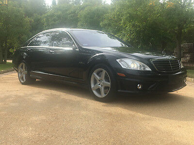 2008 Mercedes-Benz S-Class Base Sedan 4-Door 63 low mile free shipping warranty clean carfax amg luxury loaded pano cheap v8