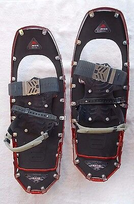 """MSR LIGHTNING AXES Snowshoes 22"""" MEN's Red"""