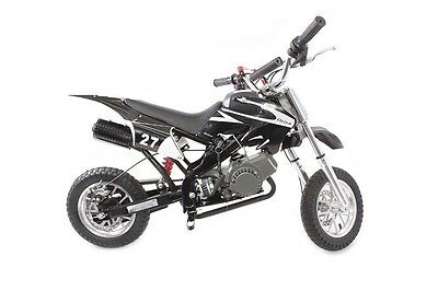 Hawk Moto 49cc Mini Dirt Devil Dirt Bike in FIVE COLOURS