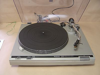 Technics SL-B2 Turntable with Stroboscope and Shure Cartridge
