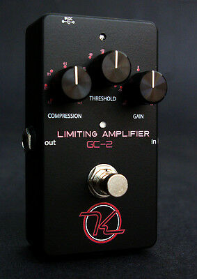NEW KEELEY ELECTRONICS GC-2 COMPRESSOR EFFECTS PEDAL w/ FREE US SHIPPING