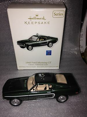 1968 Ford Mustang GT Hallmark QX8847 #21 dated 2011