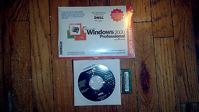 DELL WINDOWS 2000 PROFESSIONAL PRO SP3 Reinstallation CD With Memory