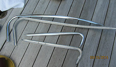 Vespa GS 160  Side flashes alloy NEW unused  GL with fixings