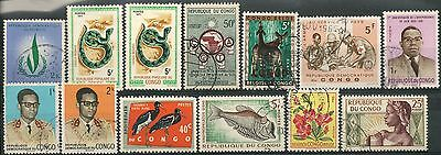 Congo Nice Lot Of Many Old Used Stamps -Cag 280215