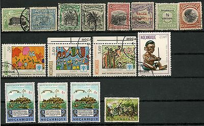 Mozambique, Nice Lot Of Many Old Used & Unused Stamps -Cag 280215