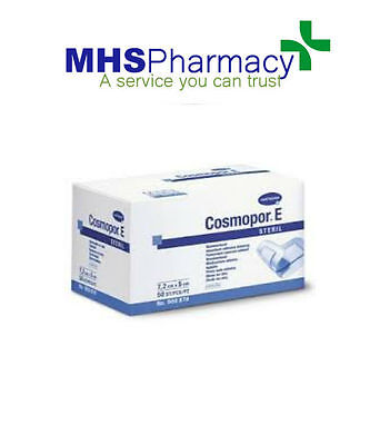 7.2 x 5cm Cosmopor E Ahesive Surgical Sterile 50 Dressings