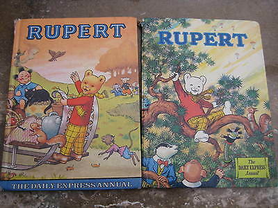 Two Rupert The Bear Annuals 1973 And 1978