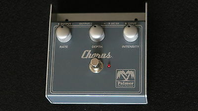 Palmer Chorus Guitar Effects Pedal Stomp Box A Classic Sounder In Ex-Cond & Gwo