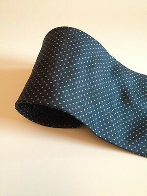 Navy And Green Polka Dot Equestrian Showing Tie