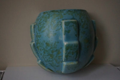 Shorter and Son Art Deco Vintage Pottery Wall pocket